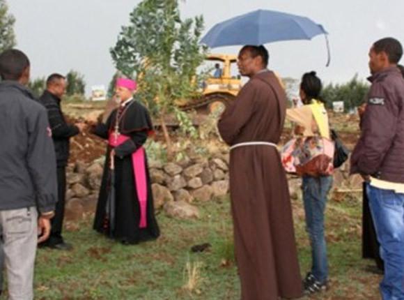 Ecusta: costruzione dell'università cattolica San Tommaso d'Aquino di Addis Abeba